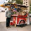 Snack Stand, Baquedano Station, Santiago, Chile 2006