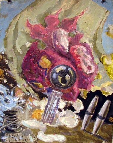 John Burkett Painting Close Hauled II