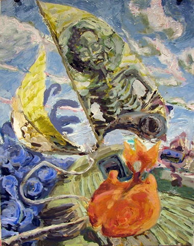 John Burkett Painting Close Hauled III