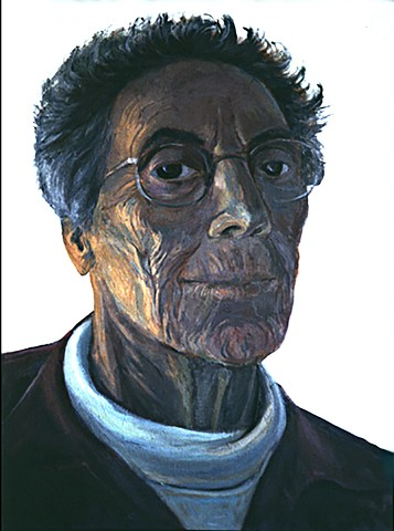 Self-portrait at 80