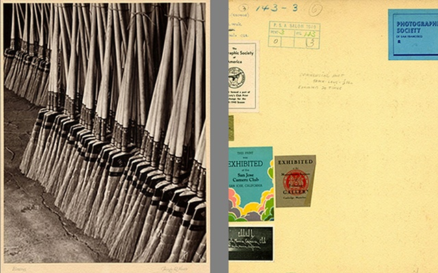 Photo of brooms by GEORGE RICHMOND HOXIE