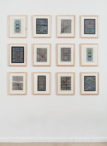 """In Formation Drawings"" Installation Shot"