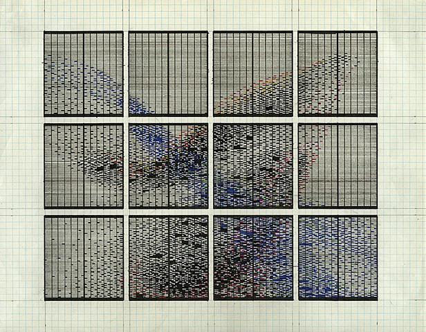 Data Murmuration Drawing #2