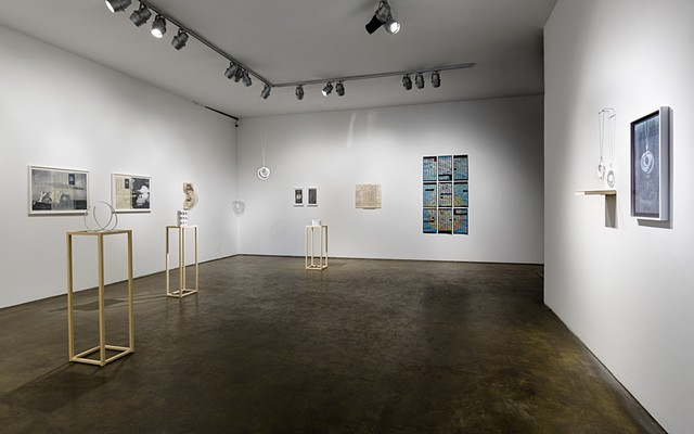 "Installation View Of ""Zeroing"" at Smack Mellon"
