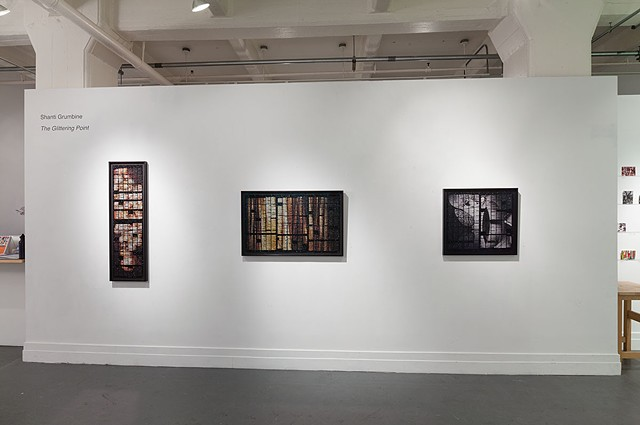 The Glittering Point, Installation Shot