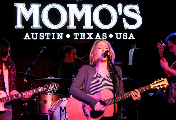 kacy crowley at momo's in austin, tx