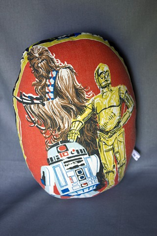 Star Wars Pillow People - Chewbacca, C-3POand R2D2