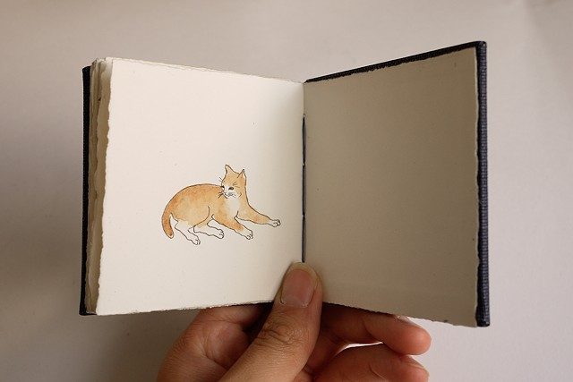 Miniature artist books
