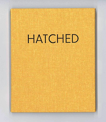 Hatched artist book