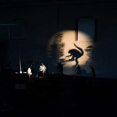shadow puppetey