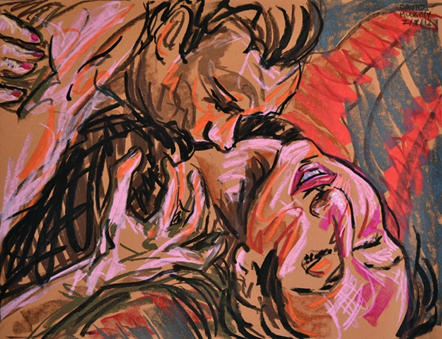 Erotic Frenzy No. 7, david murphy, Irish painter, Irish artist, Dublin, Ireland