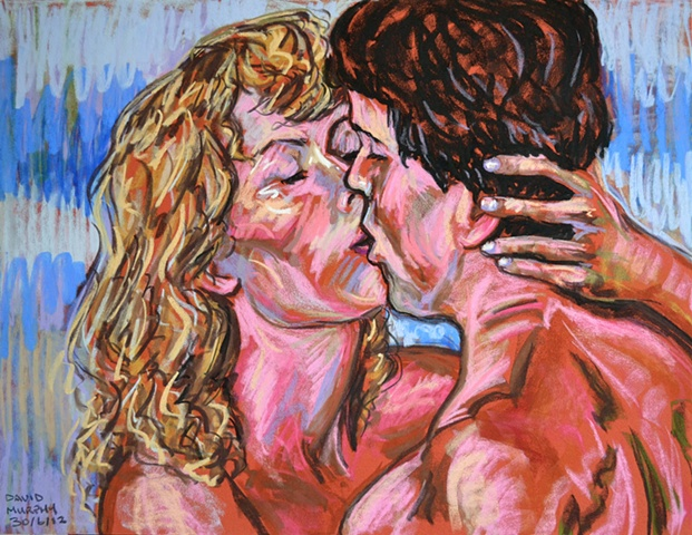 Erotic Frenzy No. 2, david murphy, Irish painter, Irish artist, Dublin, Ireland