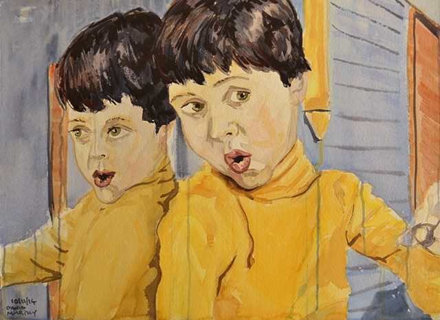 Self-Portrait As A Young Boy No. 4, david murphy, cypher