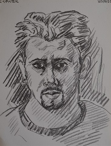 Self-Portrait Sketch No. 1