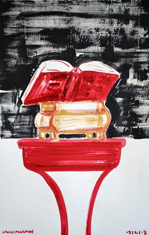 The Good Book No. 1, Neo-Expressionism, New Image, Expressionism