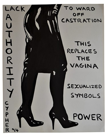 Lack, high heels, PVC, porn, erotic, art brut, outsider, fetish, david murphy, legs