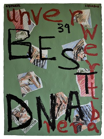 Unverwertber Bestand No. 2, collage, porn, outsider art, david murphy, irish, ireland, dublin