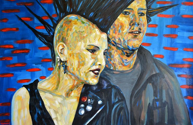 Punks, 1990, david brendan murphy, cypher, the panic artist