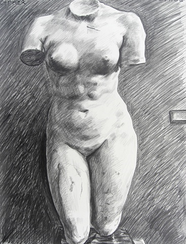Female Grecian Nude Torso No. 1