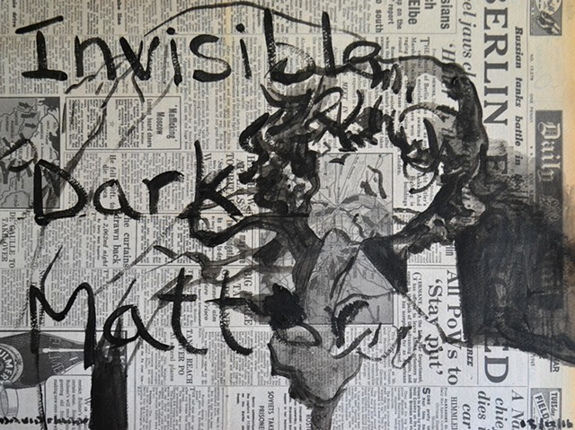 Invisible Dark Matter No. 3, porn, vintage, sex, erotica, art brut, outsider art, neo-expressionism, expressionism,