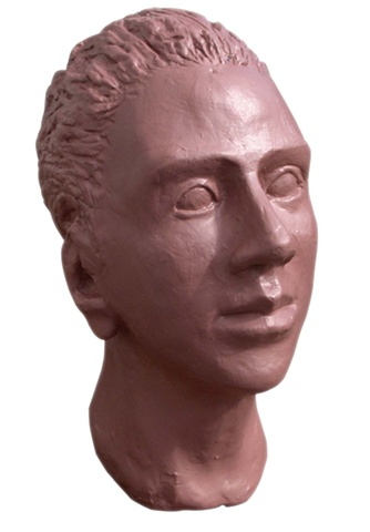 N.C.A.D. Female Head Sculpture, 1994, david brendan murphy, cypher, the panic artist