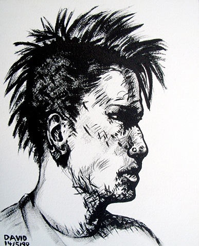 Punk, 1990, david brendan murphy, cypher, the panic artist