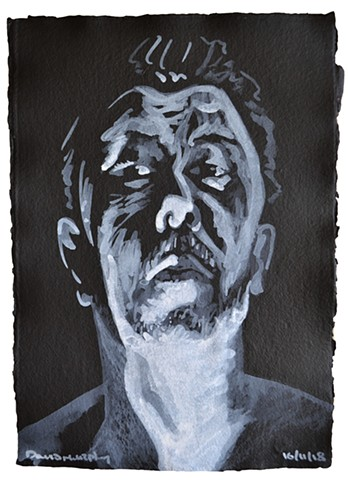 Wraith Self-Portrait No. 9, david murphy, irish, ireland, dublin, artist, painter