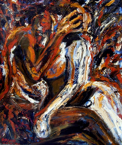 Tormented Lovers, 1990, david brendan murphy, cypher, the panic artist