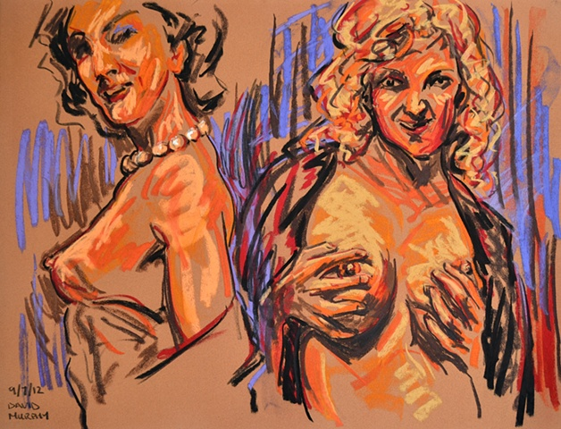 Erotic Frenzy No. 20, david murphy, Irish painter, Irish artist, Dublin, Ireland