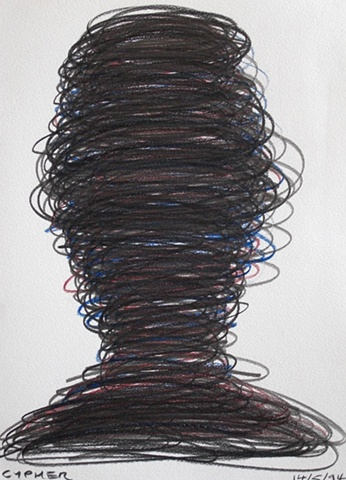 Head, 1994, david brendan murphy, cypher, the panic artist