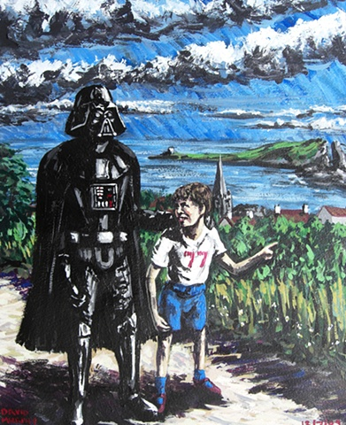 Walking With Darth Vader