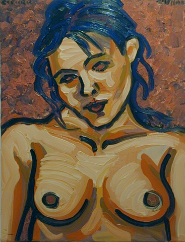 Nude Girl, 2001, david brendan murphy, cypher, the panic artist
