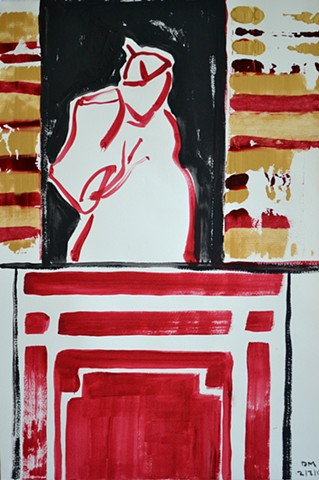 Abdicating Pope, Neo-Expressionism, New Image, Expressionism, Realism, Art Brut, Raw Art, Outsider Art