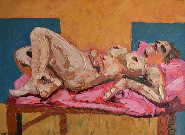 N.C.A.D. Reclining Female Nude, david murphy, cypher