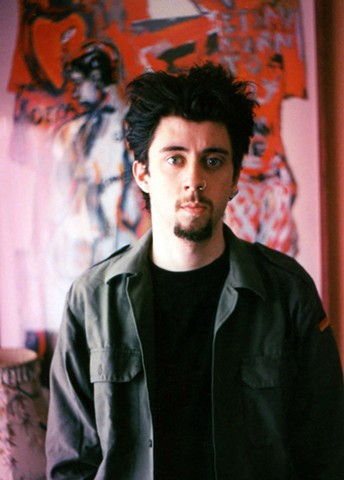 david murphy, cypher, the panic artist, photo, photograph, painter, irish, artist