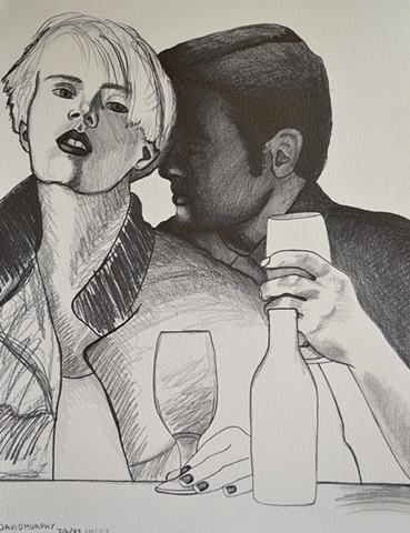Couple Drinking