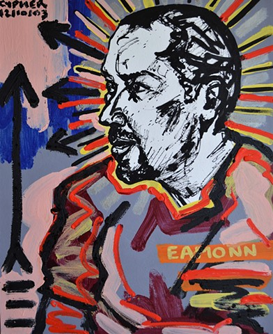 Eamonn No. 2, 2003, david brendan murphy, cypher, the panic artist