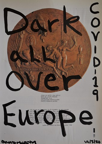 Dark All Over Europe, erotic, porn, sex, de Sade, drawing, david murphy