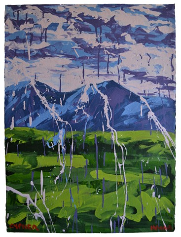 Landscape No. 3, David Brendan Murphy, affordable art, cheap art, bargin art, painting,