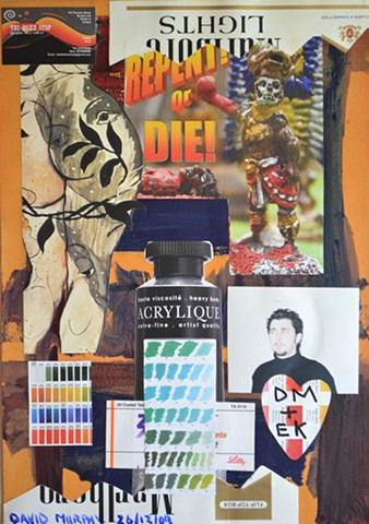 Repent or Die, erotica, art brut, outsider art, neo-expressionism, expressionism, David Murphy
