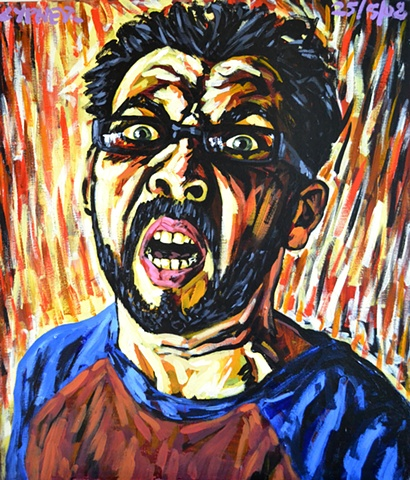 Screaming Self-Portrait No. 3