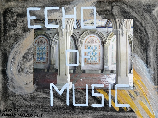 Echo of Music, David Brendan Murphy, Cypher, The Panic Artist, Irish, Artist, Painter,