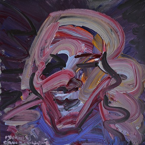 David Murphy, Expressionist, Art Brut, Outsider, Neo-Expressionist