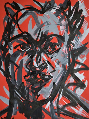 Self-Portrait Head Study No. 5