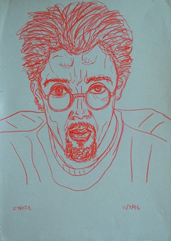 Self-Portrait with Glasses, david murphy, cypher