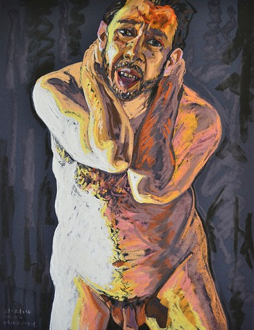 Middle Aged Nude Self-Portrait No. 3, david murphy, cypher