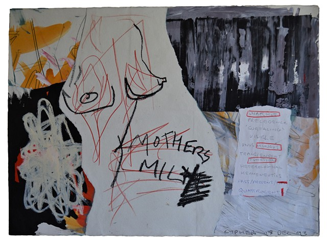 Snapshot, David Murphy, Cypher, The Panic Artist, ireland, dublin, outsider, art brut, collage