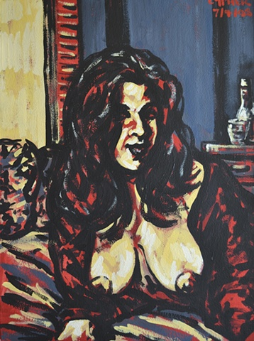 Woman With Big Breasts No. 3, David Murphy, Cypher, The Panic Artist