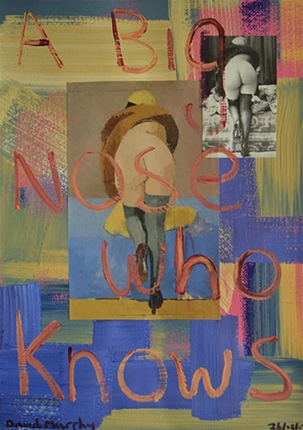 david murphy, art, painting, dublin, ireland, irish, collage, erotic,