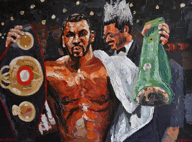 Tyson With Belts, 2004, david brendan murphy, cypher, the panic artist